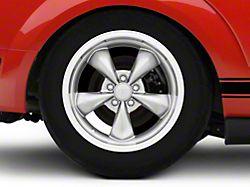 Deep Dish Bullitt Anthracite Wheel; Rear Only; 18x10 (05-09 GT, V6)