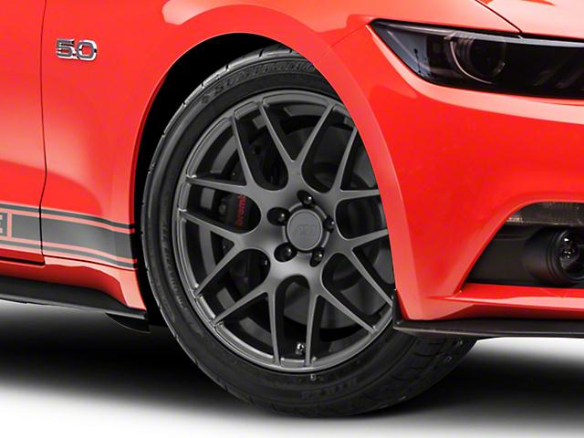 AMR Charcoal Wheel; 19x8.5 (15-20 GT, EcoBoost, V6)