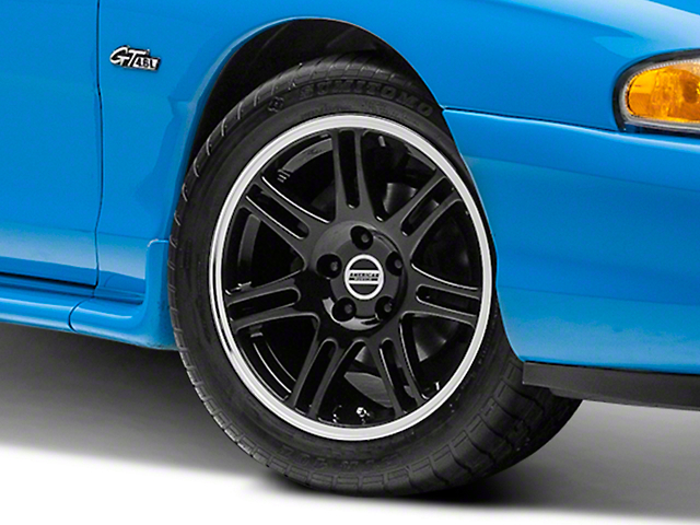 10th Anniversary Cobra Style Black Wheel - 17x9 (94-04 All)