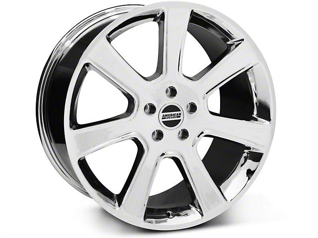 S197 Saleen Style Chrome Wheel; 20x10 (05-14 All)