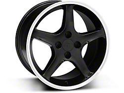 1995 Cobra R Style Black Wheel; 17x9 (87-93 All, Excluding Cobra)