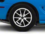 Deep Dish FR500 Style Gloss Black Machined Wheel; Rear Only; 17x10.5 (94-98 All)