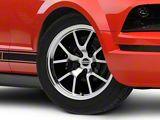 FR500 Style Gloss Black Machined Wheel; 18x9 (05-09 All)