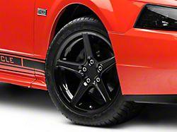 Saleen Style Black Wheel; 17x9 (99-04 All)