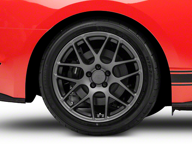 AMR Charcoal Wheel; Rear Only; 19x10 (15-20 GT, EcoBoost, V6)