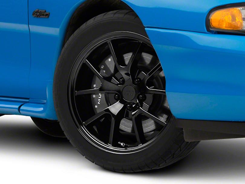 FR500 Style Solid Black Wheel - 18x9 (94-04 All)