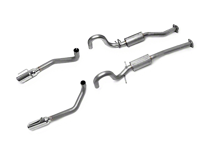 Borla Stinger S-Type Cat-Back Exhaust with Polished Tips (99-04 GT, Mach 1)