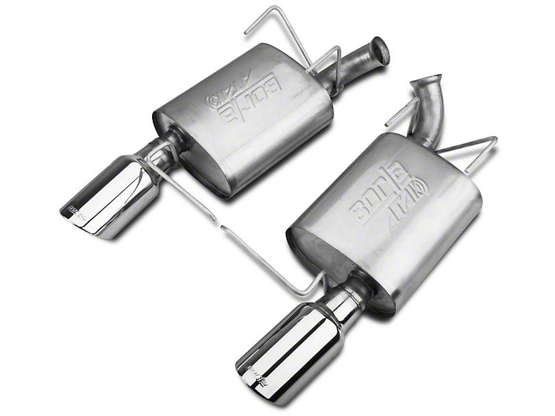 Borla ATAK Axle-Back Exhaust w/ Polished Tips (11-14 V6)