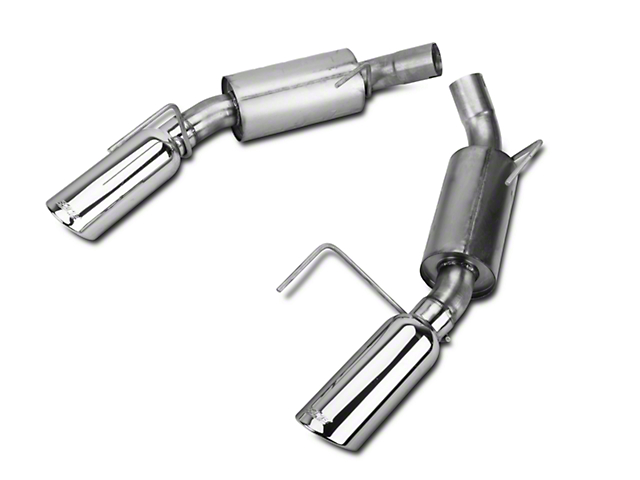 Borla Axle-Back Exhaust with Polished Tips (2010 GT500)