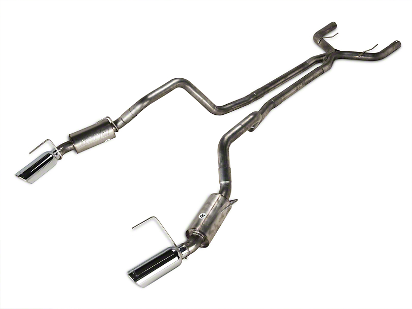 Borla Stinger S-Type Cat-Back Exhaust with Polished Tips (07-09 GT500)