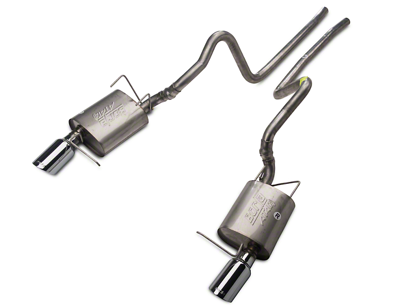 Borla ATAK Cat-Back Exhaust w/ Polished Tips (11-14 V6)