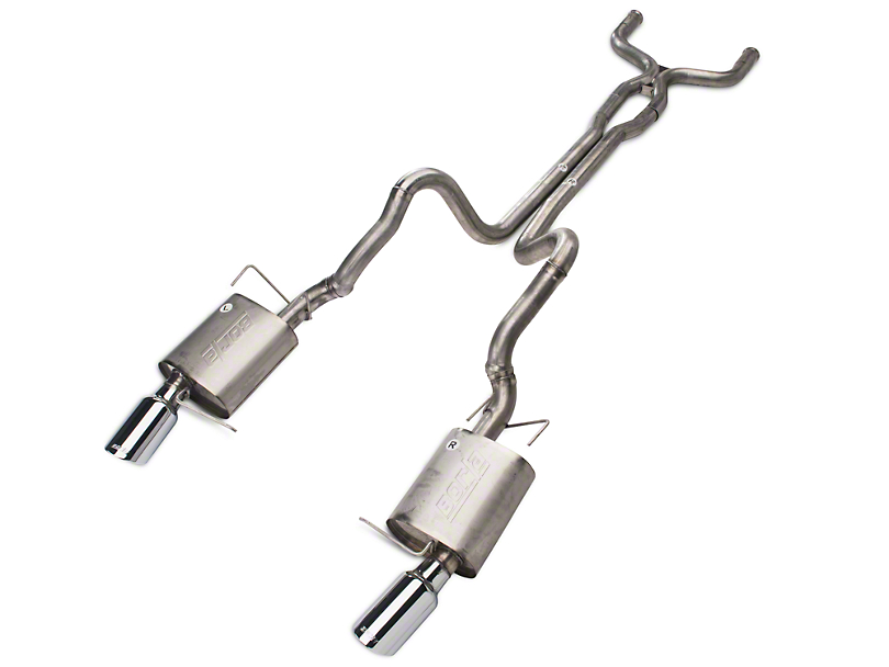 Borla Stinger S-Type Cat-Back Exhaust (11-12 GT)