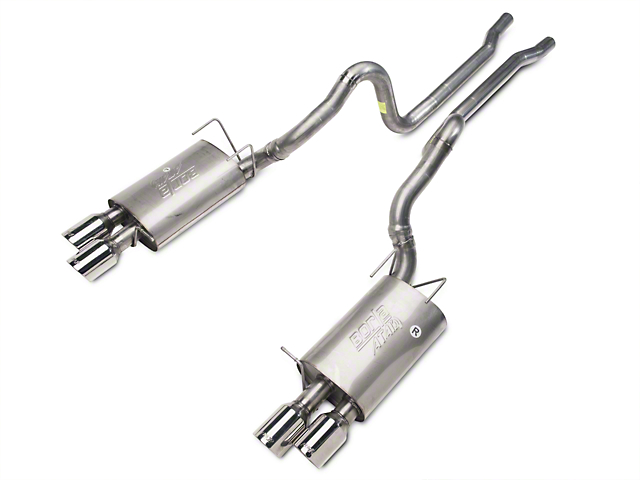 Borla ATAK Cat-Back Exhaust with Polished Tips (13-14 GT500)