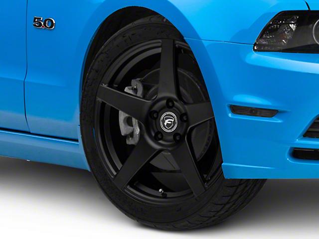 Forgestar CF5 Monoblock Matte Black Wheel; 19x9 (10-14 All)