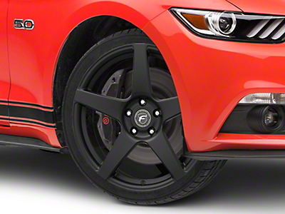 Forgestar CF5 Monoblock Matte Black Wheel - 19x9 (15-17 All)