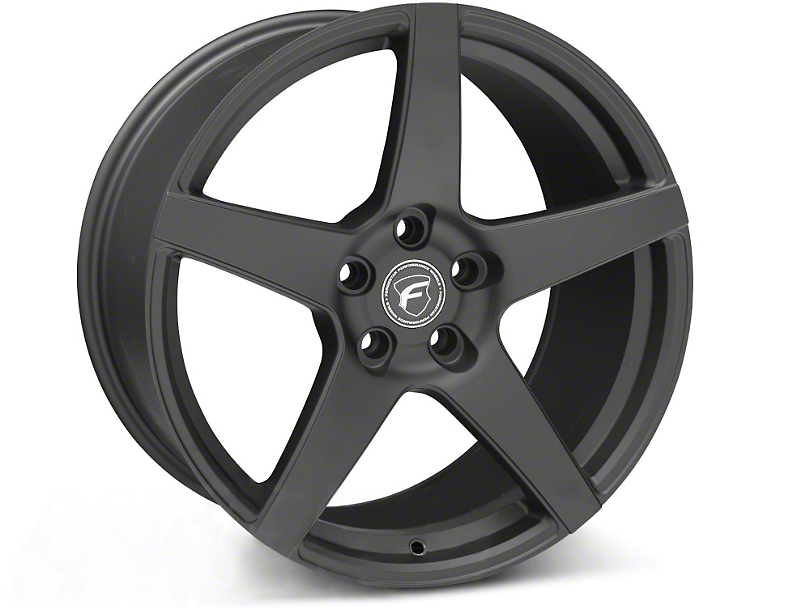 Forgestar CF5 Monoblock Matte Black Wheel - 19x10 - Rear Only (05-14 All)