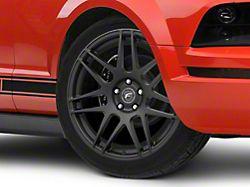 Forgestar F14 Monoblock Matte Black Wheel; 19x9.5 (05-09 All)