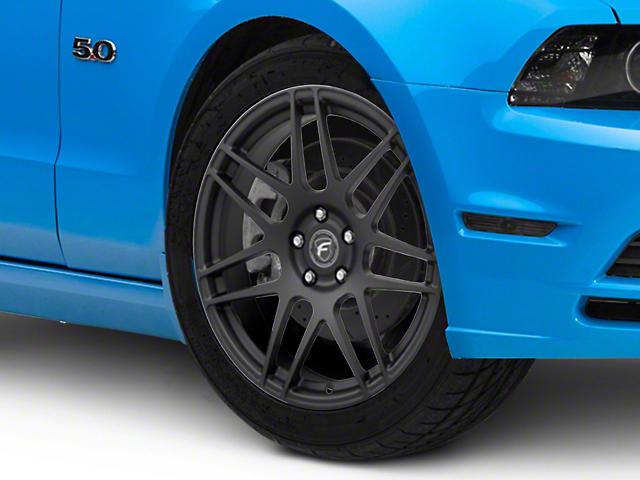 Forgestar F14 Monoblock Matte Black Wheel; 19x9 (10-14 All)