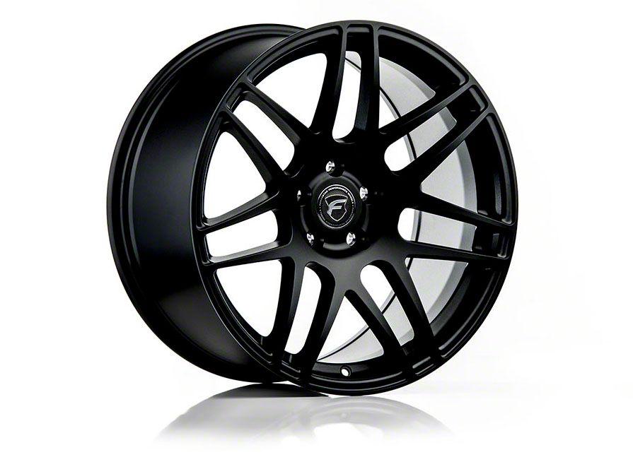 Forgestar F14 Monoblock Matte Black Wheel - 19x10 - Rear Only (15-19 GT, EcoBoost, V6)