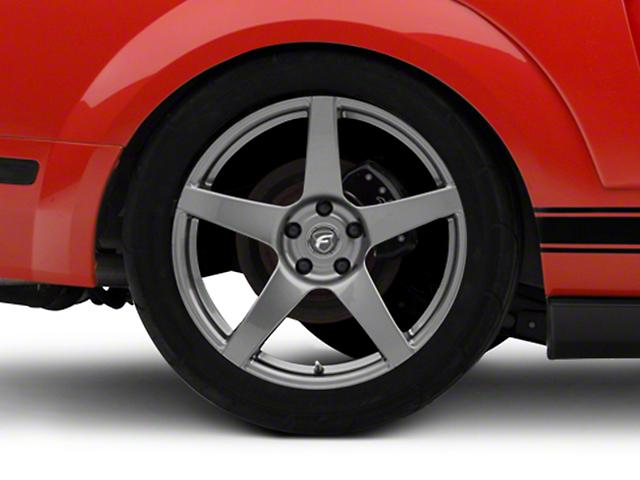 Forgestar CF5 Monoblock Gunmetal Wheel - 19x10 - Rear Only (05-14 All)