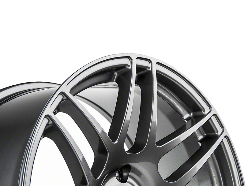 Forgestar F14 Monoblock Gunmetal Wheel - 19x9 (15-18 GT, EcoBoost, V6)