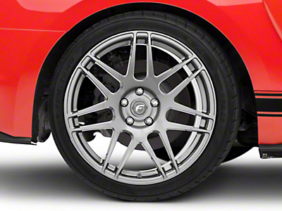 Forgestar F14 Monoblock Gunmetal Wheel - 19x10 (15-18 All)
