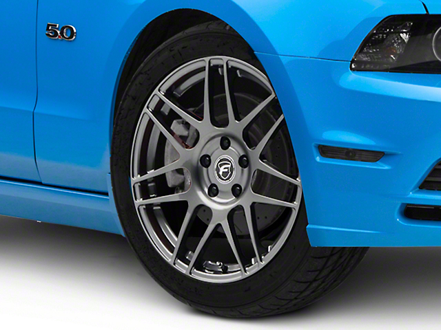 Forgestar F14 Monoblock Gunmetal Wheel; 18x9 (10-14 All, Excluding 13-14 GT500)