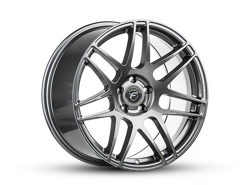 Forgestar F14 Monoblock Gunmetal Wheel - 18x10 - Rear Only (15-20 EcoBoost, V6)