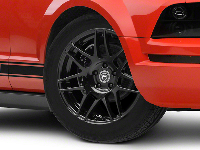 Forgestar F14 Monoblock Piano Black Wheel - 18x9 (05-14 All, Excluding 13-14 GT500)
