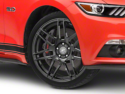 Forgestar F14 Monoblock Piano Black Wheel - 18x9 (15-18 Ecoboost, V6)