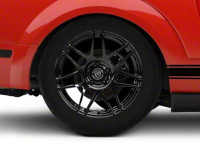 Forgestar F14 Monoblock Piano Black Wheel - 18x10 - Rear Only (05-14 All, Excluding 13-14 GT500)