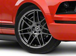 Forgestar F14 Monoblock Gunmetal Wheel - 20x9 (05-14 All)