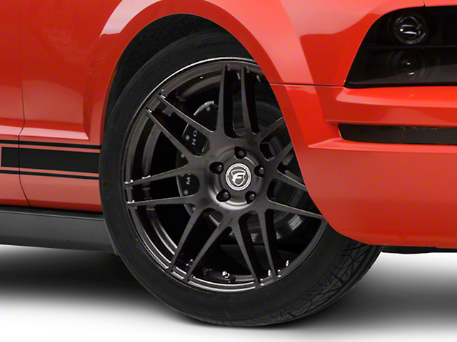 Forgestar F14 Monoblock Matte Black Wheel; 20x9 (05-09 All)