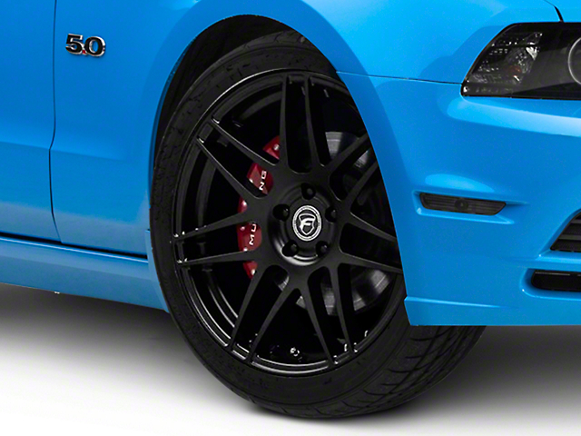 Forgestar F14 Monoblock Matte Black Wheel; 20x9.5 (10-14 All)