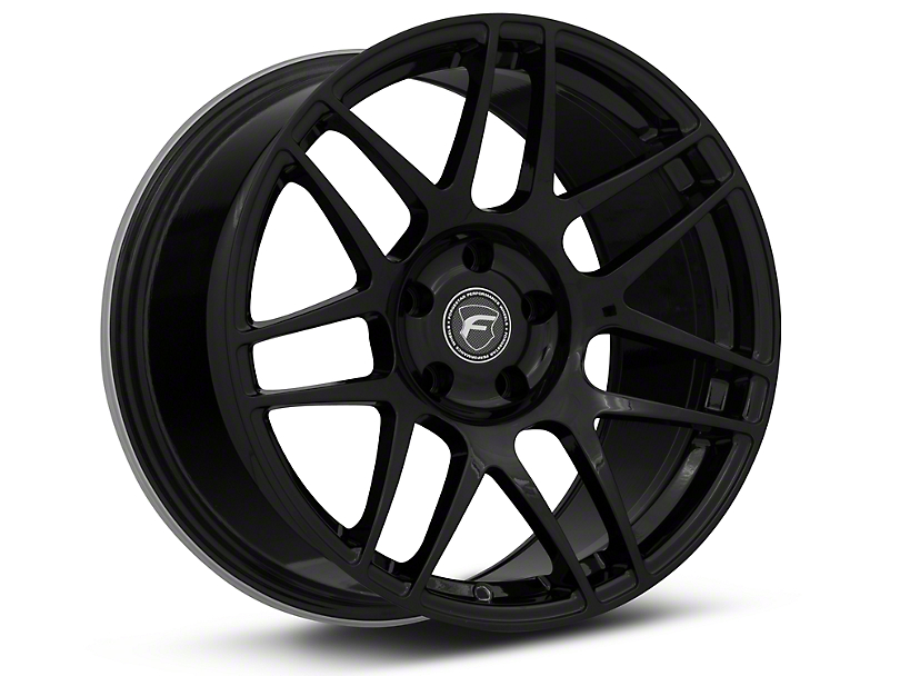 Forgestar F14 Monoblock Piano Black Wheel - 18x10 - Rear Only (94-04 All)