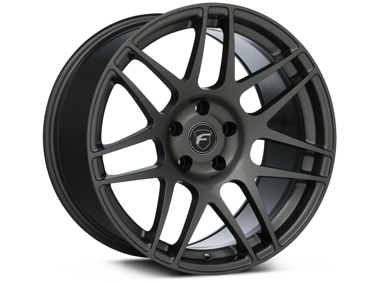 Forgestar F14 Monoblock Gunmetal Wheel - 18x10 - Rear Only (94-04 All)
