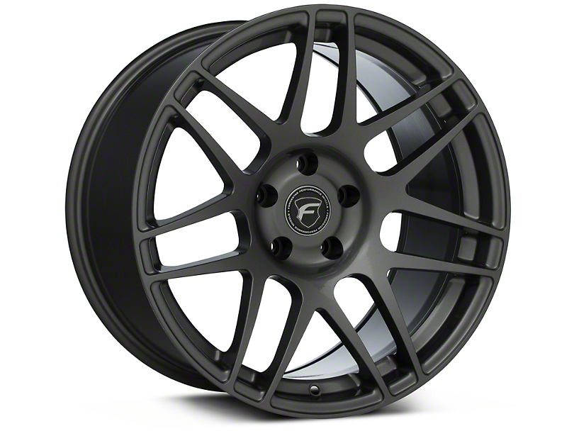 Forgestar F14 Monoblock Gunmetal Wheel; Rear Only; 18x10 (94-98 All)