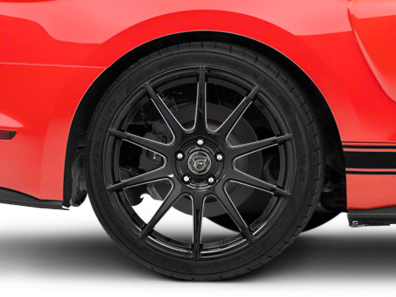 Forgestar CF10 Monoblock Piano Black Wheel - 19x10 - Rear Only (15-19 GT, EcoBoost, V6)