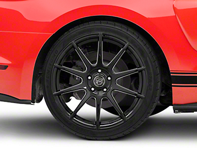 Forgestar CF10 Monoblock Piano Black Wheel - 19x10 (15-18 All)