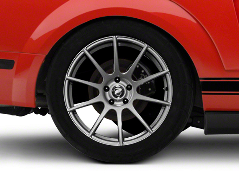 Forgestar CF10 Monoblock Gunmetal Wheel - 19x10 - Rear Only (05-14 All)