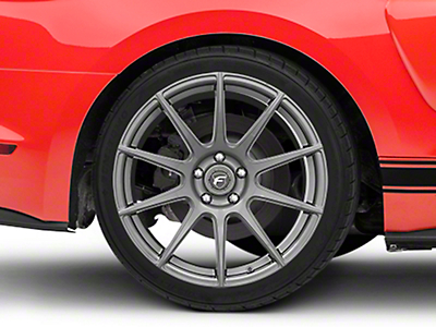 Forgestar CF10 Monoblock Gunmetal Wheel - 19x10 (15-17 All)