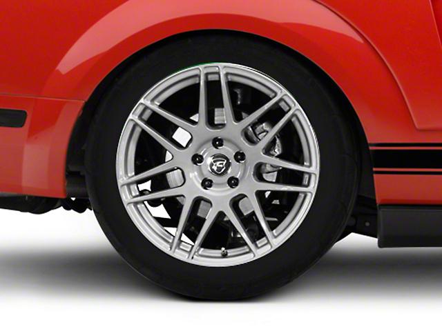Forgestar F14 Monoblock Silver Wheel - 19x10 - Rear Only (05-14 All)