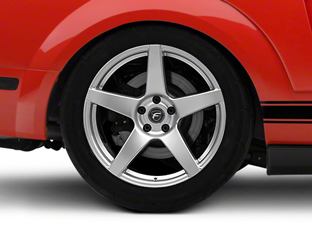 Forgestar CF5 Monoblock Silver Wheel - 19x10 (05-14 All)