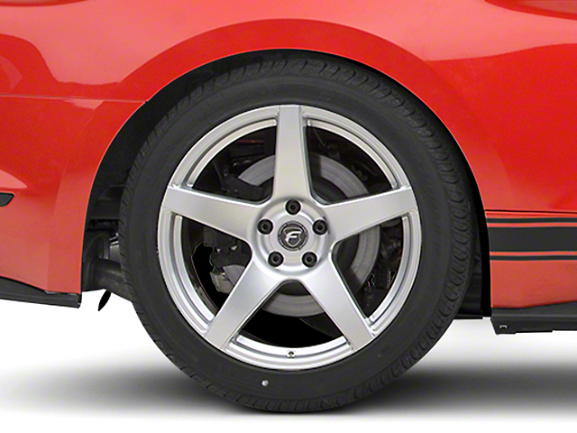 Forgestar CF5 Monoblock Silver Wheel - 19x10 (15-17 All)