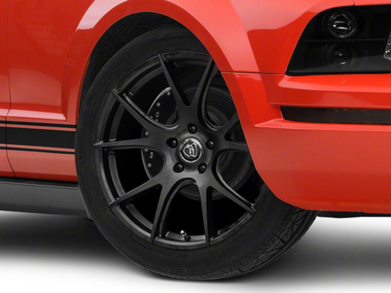 Forgestar CF5V Monoblock Matte Black Wheel - 19x9 (05-14 All)