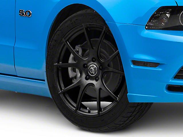 Forgestar CF5V Monoblock Matte Black Wheel; 19x9 (10-14 All)