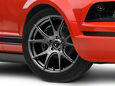 Forgestar CF5V Monoblock Gunmetal Wheel - 19x9 (05-14 All)