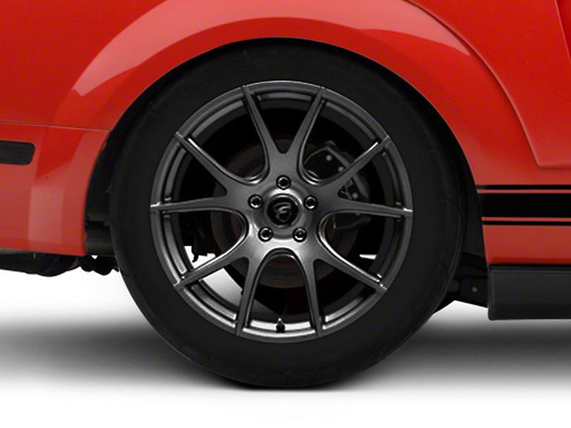 Forgestar CF5V Monoblock Gunmetal Wheel - 19x10 (05-14 All)