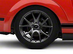 Forgestar CF5V Monoblock Gunmetal Wheel; Rear Only; 19x10 (05-09 All)