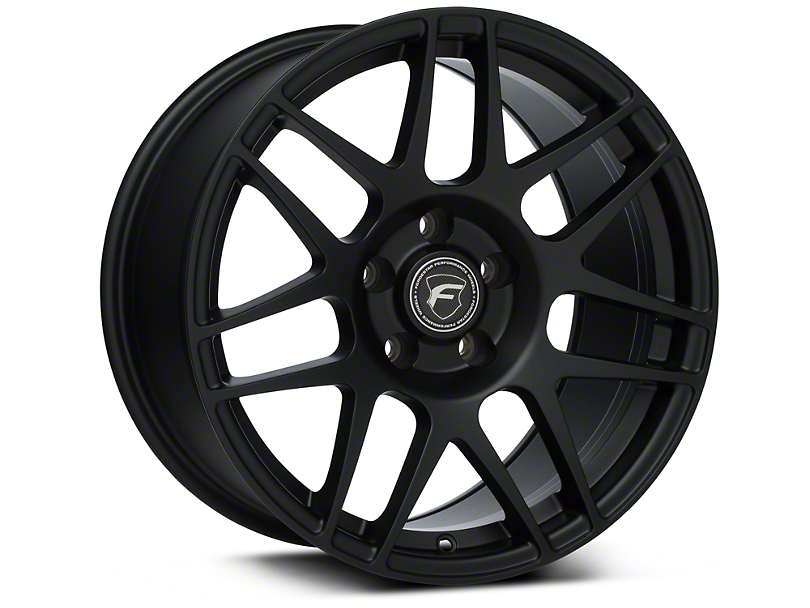 Forgestar F14 Monoblock Matte Black Wheel - 17x9 (94-04 All)
